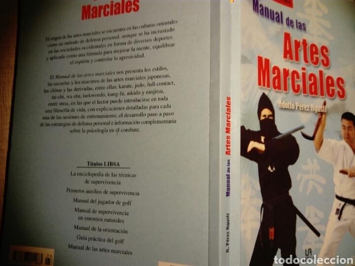 Libros: Manual de las artes marciales. Adolfo Pérez Agusti. Ed Libsa - Foto 2 - 187397726