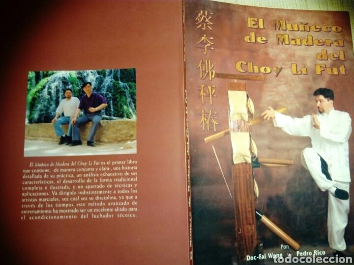 Libros: El muñeco de madera del Choi Li Fut. Doc-Fai Wong y Pedro Rico. - Foto 2 - 187397832