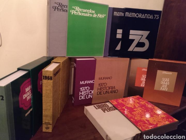 Libros: 8 Tomos LIBRO PERSONAL DE RECUERDOS 66/67/68/69/70/71/72/73 - Foto 2 - 189388262