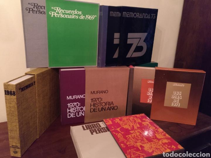 Libros: 8 Tomos LIBRO PERSONAL DE RECUERDOS 66/67/68/69/70/71/72/73 - Foto 4 - 189388262