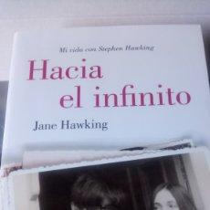 Libros: LIBRO HACIA EL INFINITO. JANE HAWKING. EDITORIAL LUMEN. AÑO 2015.. Lote 189925325