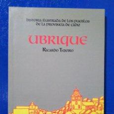 Libros: HISTORIA ILUSTRADA DE LOS PUEBLOS DE LA PROVINCIA DE CÁDIZ, RICARDO TEJEIRO ( 4 LIBROS ). Lote 190641805