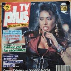 Libros: TV PLUS Nº127. SABRINA. Lote 191989822