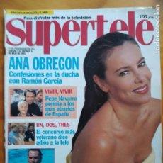 Libros: SUPERTELE Nº 68. PORTADA ANA OBREGÓN. MUY BUEN ESTADO. Lote 192071088