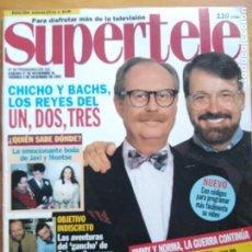Libros: SUPERTELE Nº 89. PORTADA CHICHO. MUY BUEN ESTADO. Lote 192071596