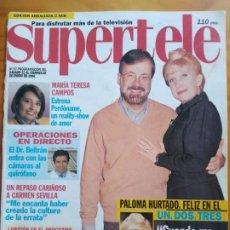 Libros: SUPERTELE Nº 97. PORTADA CHICHO. MUY BUEN ESTADO. Lote 192071938