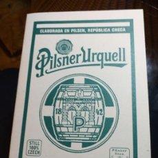 Libros: PILSNER URQUELL. GUIA DE CATA. ELABORADA EN PILSEN , REPUBLICA CHECA.. Lote 193010185