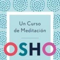 Libros: UN CURSO DE MEDITACIÓN. Lote 194587445