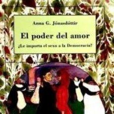 Libros: EL PODER DEL AMOR. Lote 194859156