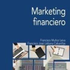 Libros: MARKETING FINANCIERO. Lote 194859165