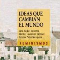 Libros: IDEAS QUE CAMBIAN EL MUNDO. Lote 194859190