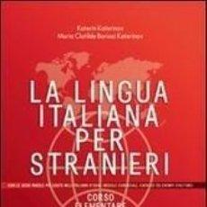 Libros: LA LINGUA ITALIANA PER STRANIERI. Lote 195064042