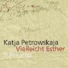 Libros: VIELLEICHT ESTHER. Lote 195064051