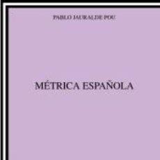 Libros: MÉTRICA ESPAÑOLA. Lote 195278291