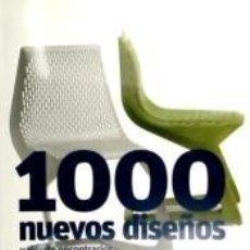 Libros: 1000 NUEVOS DISEÑOS Y DONDE ENCONTRARLOS. Lote 195382456