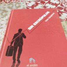 Libros: SIN ESCRÚPULOS. Lote 195383750