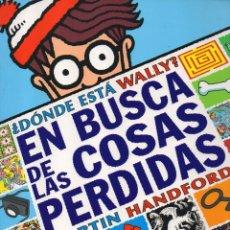 Libros: DONDE ESTA WALLY: EN BUSCA DE LAS COSAS PERDIDAS - B DE BLOK (NUEVO). Lote 195392310