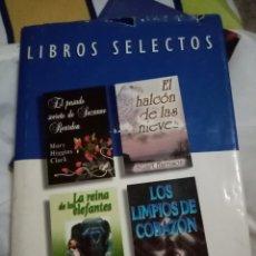 Libros: LIBROS SELECTOS 4 LIBROS EN 1. Lote 195905667