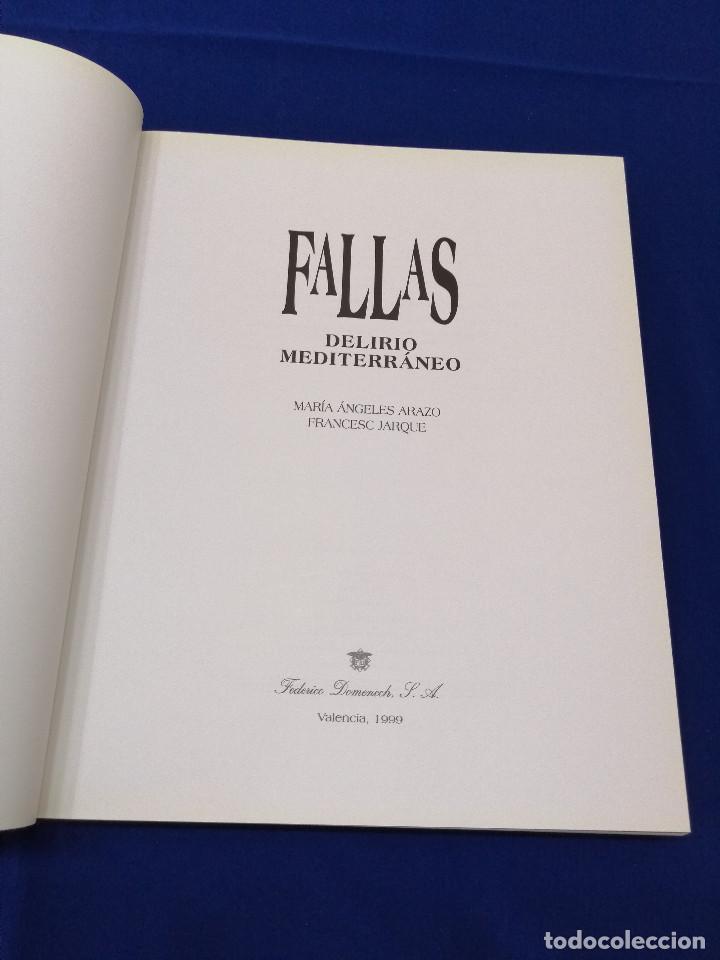 Libros: FALLAS DELIRIO MEDITERRANEO - Foto 4 - 196874742