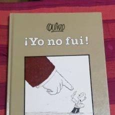 Libros: LIBRO QUINO ! YO NO FUI ¡. Lote 198350927