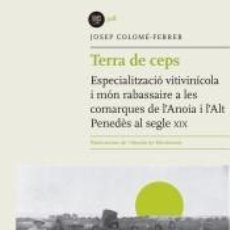 Libros: TERRA DE CEPS. Lote 198407672
