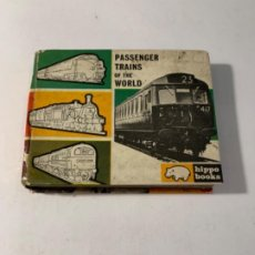 Libros: PASSENGER TRAINS OF THE WORLD. Lote 201237913