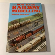 Libros: RAILWAY MODELLING. Lote 201239975