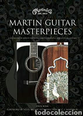 MARTIN GUITAR MASTERPIECES (Libros Nuevos - Ocio - Otros)