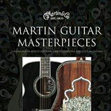 Libros: MARTIN GUITAR MASTERPIECES. Lote 202534615