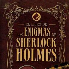 Livres: EL LIBRO DE LOS ENIGMAS DE SHERLOCK HOLMES - PENGUIN RANDOM HOUSE, 2018 (NUEVO). Lote 203233890