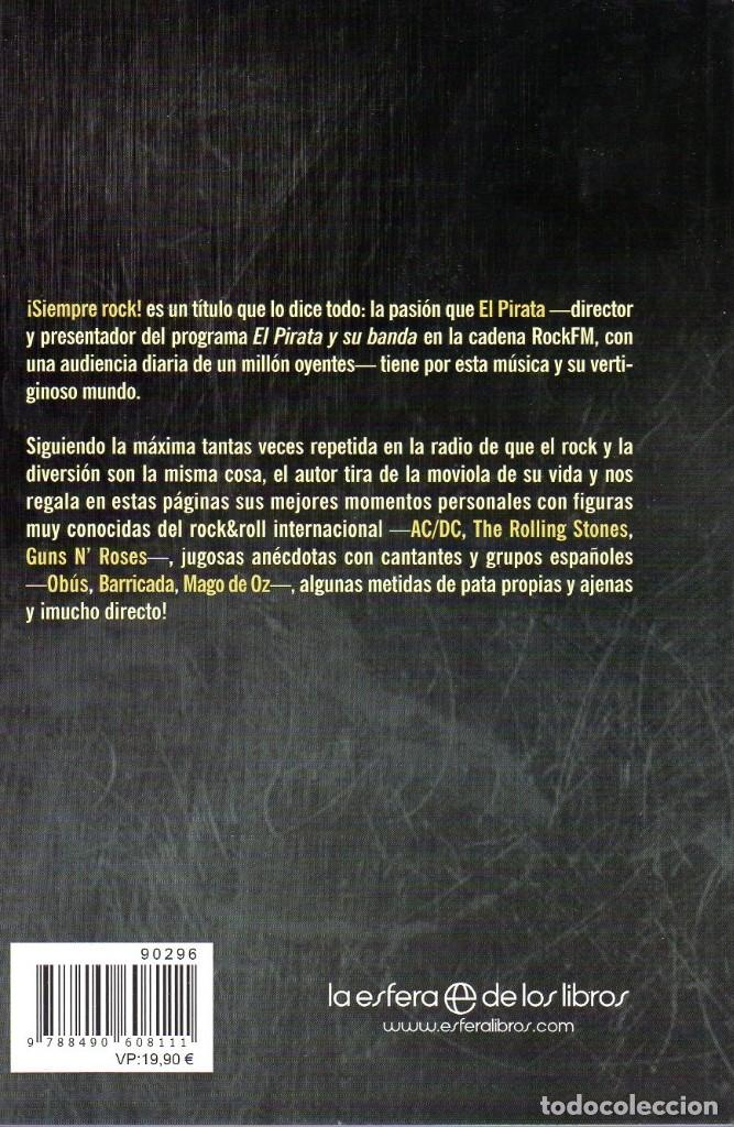 Libros: libro EL PIRATA SIEMPRE ROCK - Foto 3 - 204807915