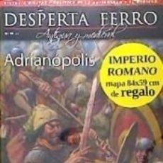 Livros: REVISTA DESPERTA FERRO. ANTIGUA Y MEDIEVAL, Nº 50. ADRIANÓPOLIS. Lote 206257122