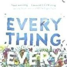 Libros: EVERYTHING, EVERYTHING. Lote 206972897