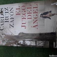 Libros: EL JUEGO DEL ANGEL DE CARLOD RUIZ ZAFON. Lote 208296607
