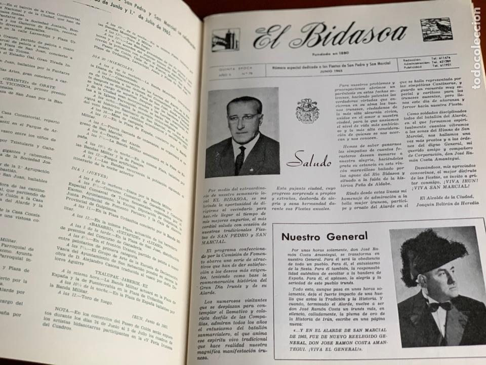 Libros: EL BIDASOA Nº78-1965 - Foto 2 - 208413012