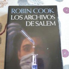 Libros: LIBRO.LOS ARCHIVOS DE.SALEM.ROBIN COOK.SHAKESPEARE. NUEVO.. Lote 208445152