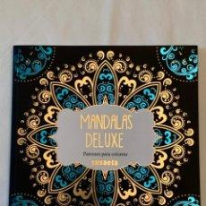 Libros: LIBRO DE MANDALAS DE LUXE. PATRONES PARA COLOREAR. SUSAETA. Lote 209346725