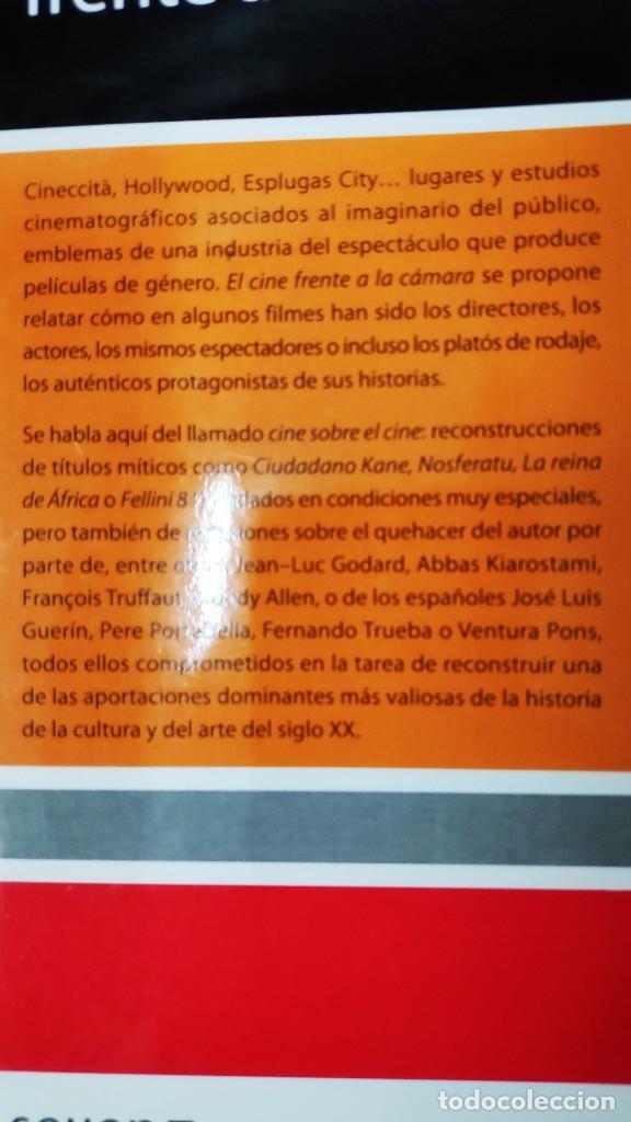 Libros: EL CINE FRENTE A LA CAMARA ( FRANCESC SANCHEZ BARBA ) - Foto 2 - 209666160
