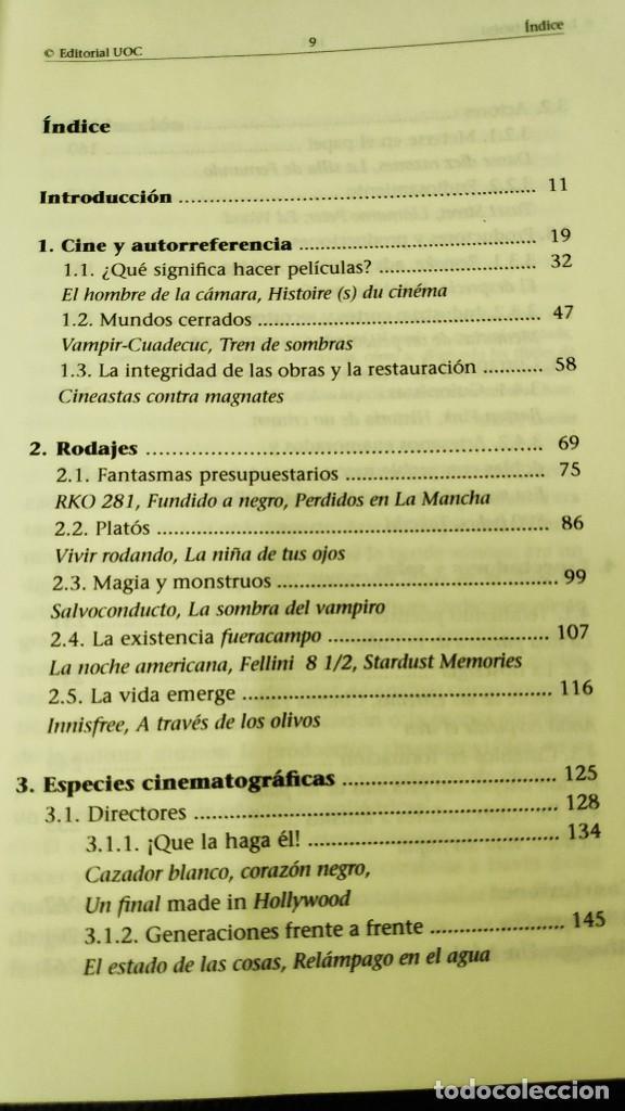 Libros: EL CINE FRENTE A LA CAMARA ( FRANCESC SANCHEZ BARBA ) - Foto 4 - 209666160
