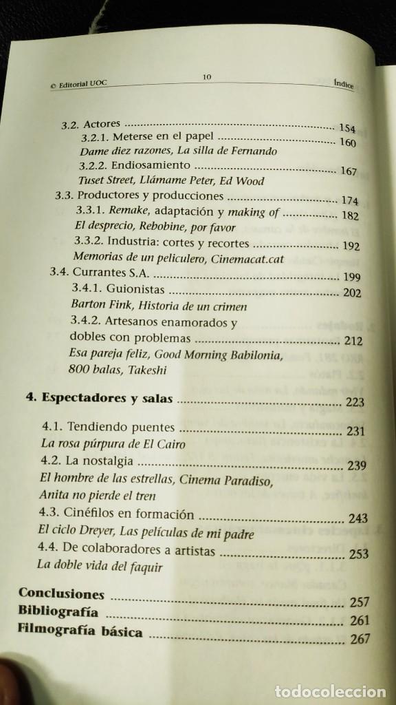Libros: EL CINE FRENTE A LA CAMARA ( FRANCESC SANCHEZ BARBA ) - Foto 5 - 209666160