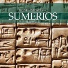 Libros: BREVE HISTORIA DE LOS SUMERIOS. Lote 210567665