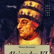Libros: ALEJANDRO VI. Lote 210567688