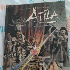 Libros: ATILA EL SEÑOR DEL DANUBIO IMPECABLE. Lote 210578282