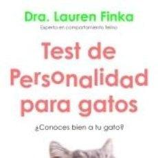 Libros: TEST DE PERSONALIDAD PARA GATOS: ¿CONOCES BIEN A TU GATO?. Lote 211670424