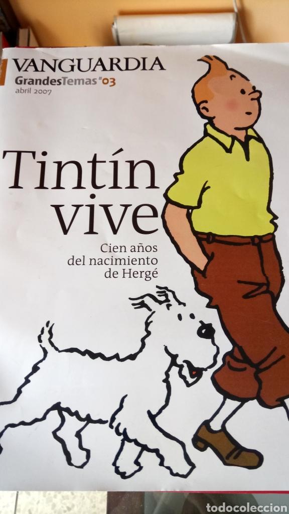 LIBRO TINTIN VIVE. LA VANGUARDIA. AÑO 2007. (Libros Nuevos - Ocio - Otros)