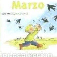 Libros: MARZO. Lote 214425698