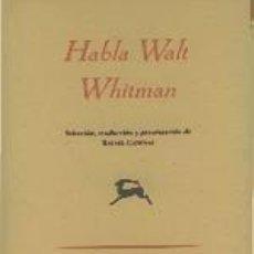 Libros: HABLA. Lote 214428877