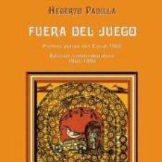 Libros: FUERA DEL JUEGO. Lote 214436506