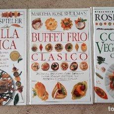 Libros: LIBROS DE COCINA. Lote 215337836