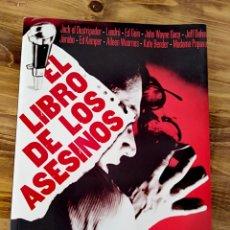 Libros: EL LIBRO DE LOS ASESINOS ALICIA MISRAHI CRIMEN JARABO JACK DESTRIPADOR MISTERIO POLICIACA. Lote 216401531